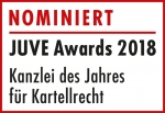 Awards 2018 Logo Nominierte Kartellrecht